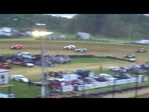 Spoon River Speedway,7-18-09,modified division division, feature racing event.