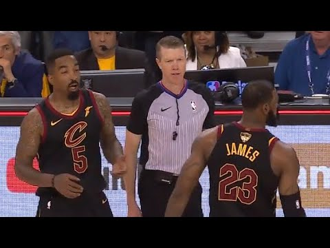 2c2cab4efa96 JR Smith Dumbest Play In NBA History! Game 1 Cavaliers vs Warriors 2018 NBA  FINALS