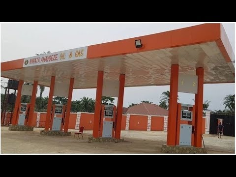 Nigerian oil and gas magnate Nwanta Anayoeze Yonaracha builds fuel station (photos)