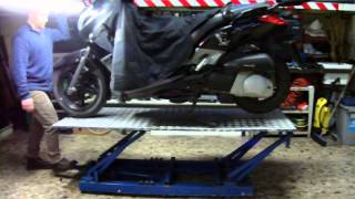 Ponte Sollevatore Moto - Home Made Bike Motorcycle Lift Table
