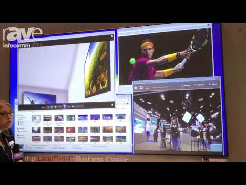 InfoComm 2017: dnp Showcases LaserPanel Business Classic Display Package