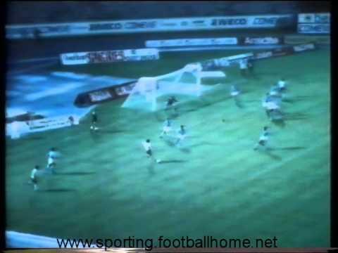 05J :: Sporting - 4 x Ginásio de Alcobaça - 1 de 1982/1983