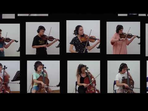Download Η μικρή ορχήστρα εγχόρδων του Ωδείου ερμηνεύει Gargoyles του Doug Spata