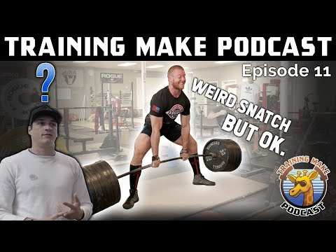 Can Weightlifters Learn from Powerlifters? ft. David Woolson - Ep11 [TMP FULL]