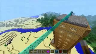 Обзор модов для Minecraft ~1 6 4 ~ Световые мосты, двери, рельсы   Нефиговоофигенный мод!