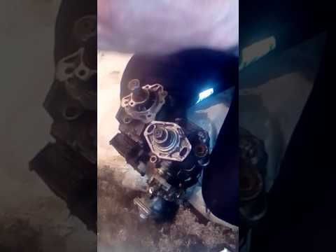 переделка тнвд опель запфира на механику 1