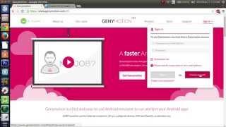 Android Emulator On Ubuntu Pt.1 [Android Studio] Genymotion