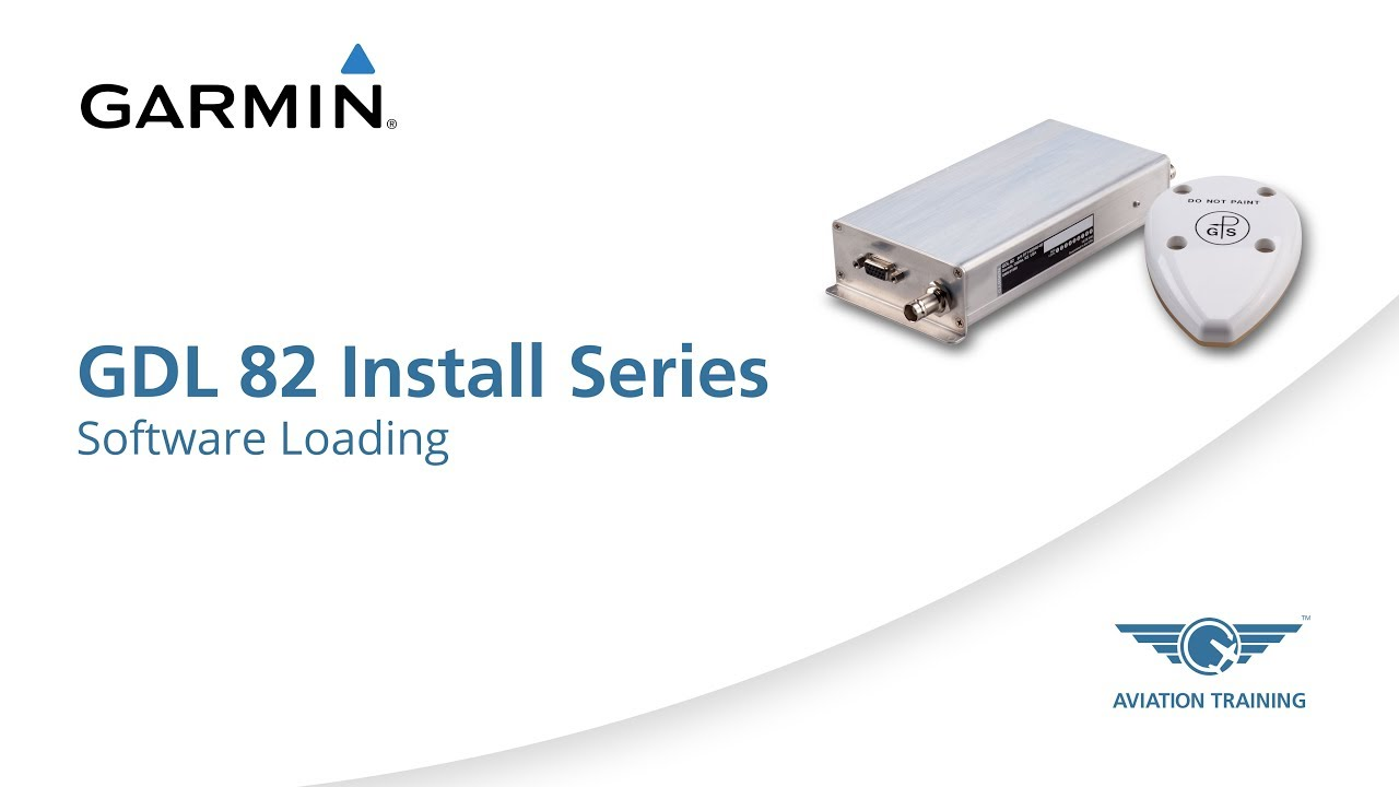 Garmin GDL 82 Install Series - Software Loading - Dauer: 3 Minuten, 36 Sekunden