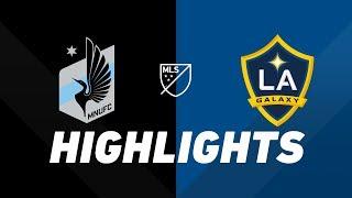 Minnesota United FC vs. LA Galaxy | HIGHLIGHTS - April 24, 2019