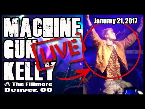 MACHINE GUN KELLY LIVE 2017 | The Fillmore Denver, CO