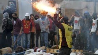 Ankara'da Gezi eylemine müdahale - BBC TÜRKÇE