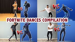 Fortnite Dances In Real Life Compilation Part 1 | Learn How To Dance