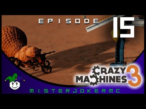 Crazy Machines 3 Gameplay - 15 - Bugs and Lasers |