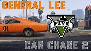 General Lee GTA V Chase 2