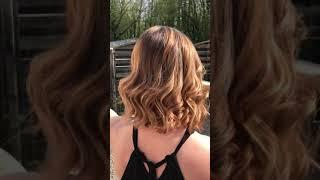Ombré hair cuivre doré