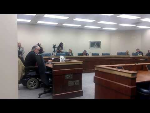 Testimony to Senate DSS Oversight Subcommittee 1-15-2014