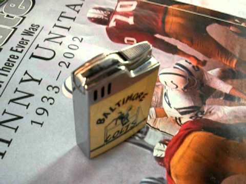 Baltimore Colts Bluebird Lighter