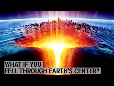 Here's What Would Happen If You Fell Through The Center Of The Earth