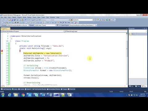 Binary Serialization in C#