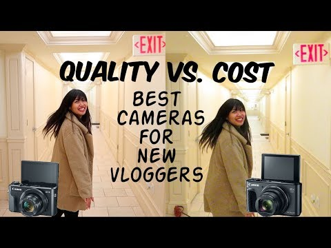 Canon G7x Mark 2 vs. Canon SX730 HS - BEST VLOG CAMERAS (2018)