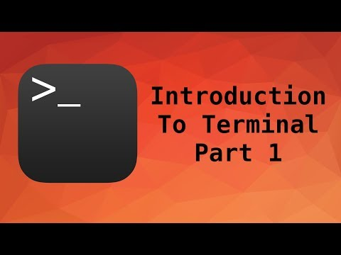 Terminal Tutorial: Guide To Using Your Mac Terminal | PART 1