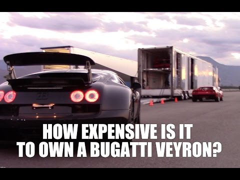 HOW EXPENSIVE IS IT TO OWN A BUGATTI?