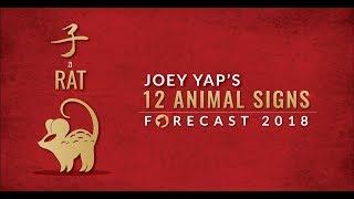 2018 Animal Sign Forecast: RAT [Joey Yap]