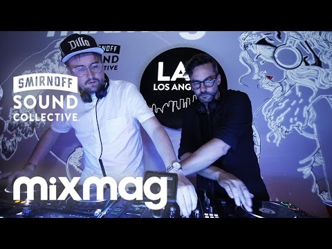 MACHINEDRUM and BONOBO in The Lab LA
