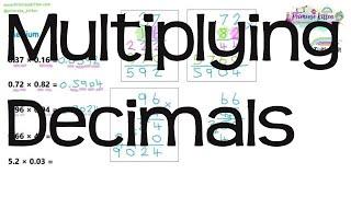Multiplying Decimals | Maths GCSE and iGCSE Revision