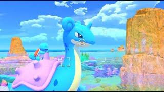 Photograph Pokémon while exploring beautiful islands in New Pokémon Snap!