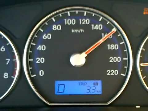 Hyundai Santa Fe cua Nguyen Minh Tuan dat toc do 200km h