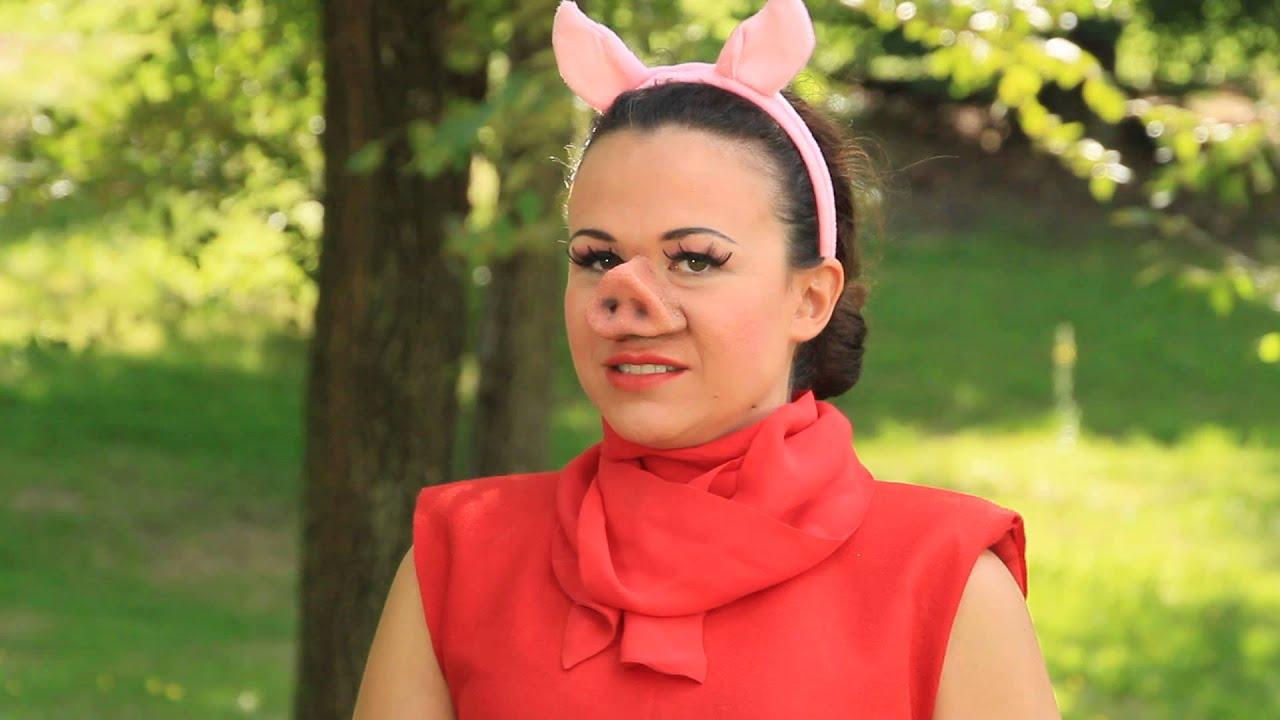 Un saluto dalla vostra Peppa...alias Valeria Graci - YouTube