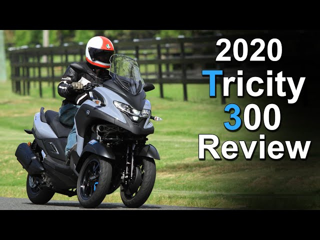 2020 Yamaha Tricity 300 Review | Three-wheels better than two?