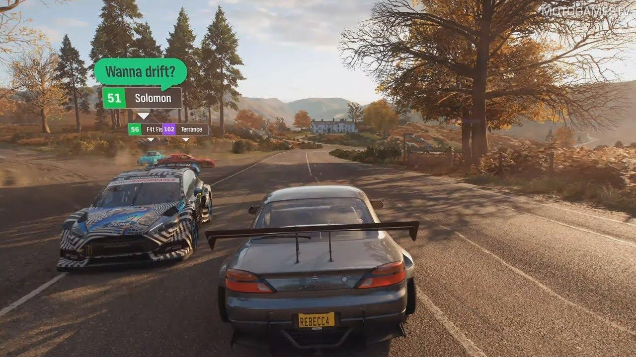 Forza Horizon 4 - E3 2018 Announcement & Gameplay
