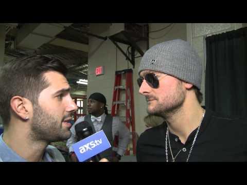 Eric Church talks sunglasses inside & Blake Shelton beef