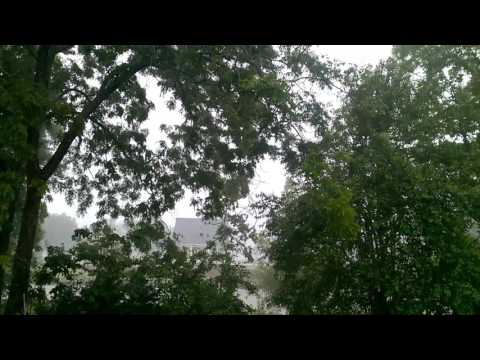 April Shower Lightning Booming Thunder-Sounds for Relaxation Sleeping Studying Meditating