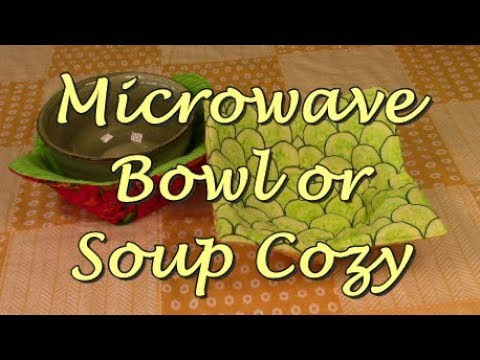 Microwave Bowl and or Soup Cozy