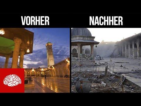 Aleppo vorher und nachher