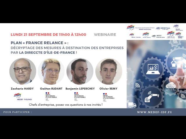 Plan « France Relance »
