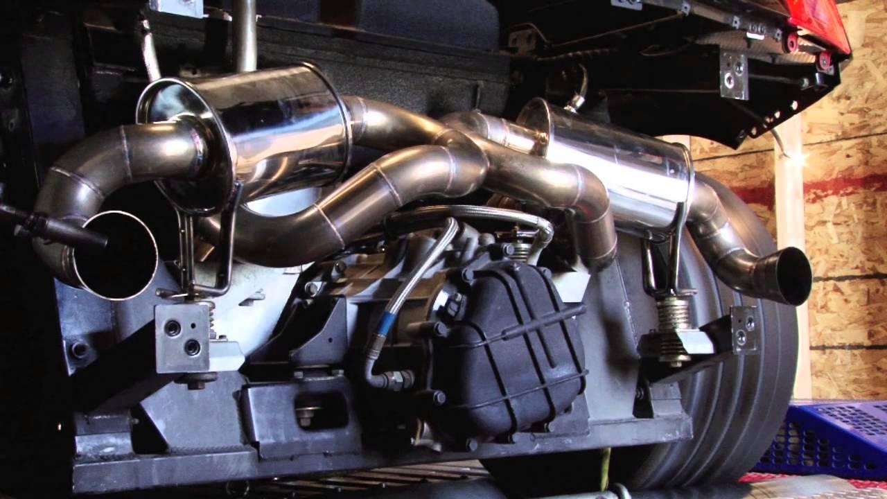 Lamborghini gallardo exhaust system
