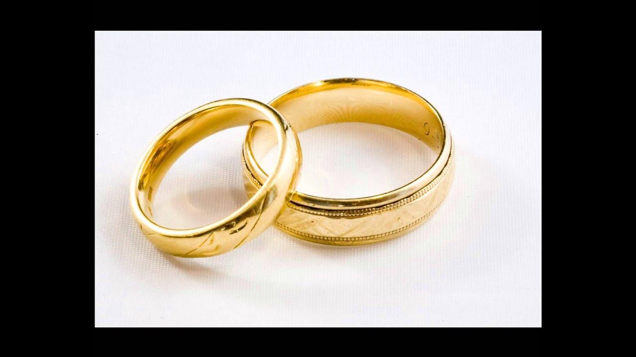 Modelos anillos matrimonio oro