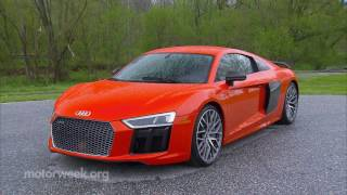 MotorWeek | Road Test: 2017 Audi R8
