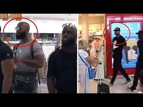 Booba et Kaaris se bagarrent à l'aéroport de Paris Orly et retardent plusieurs vols