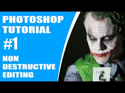 [Photoshop Tutorials] #1 Non Destructive Editing : Layer Mask,Adjustment, Smart Object, Retouching