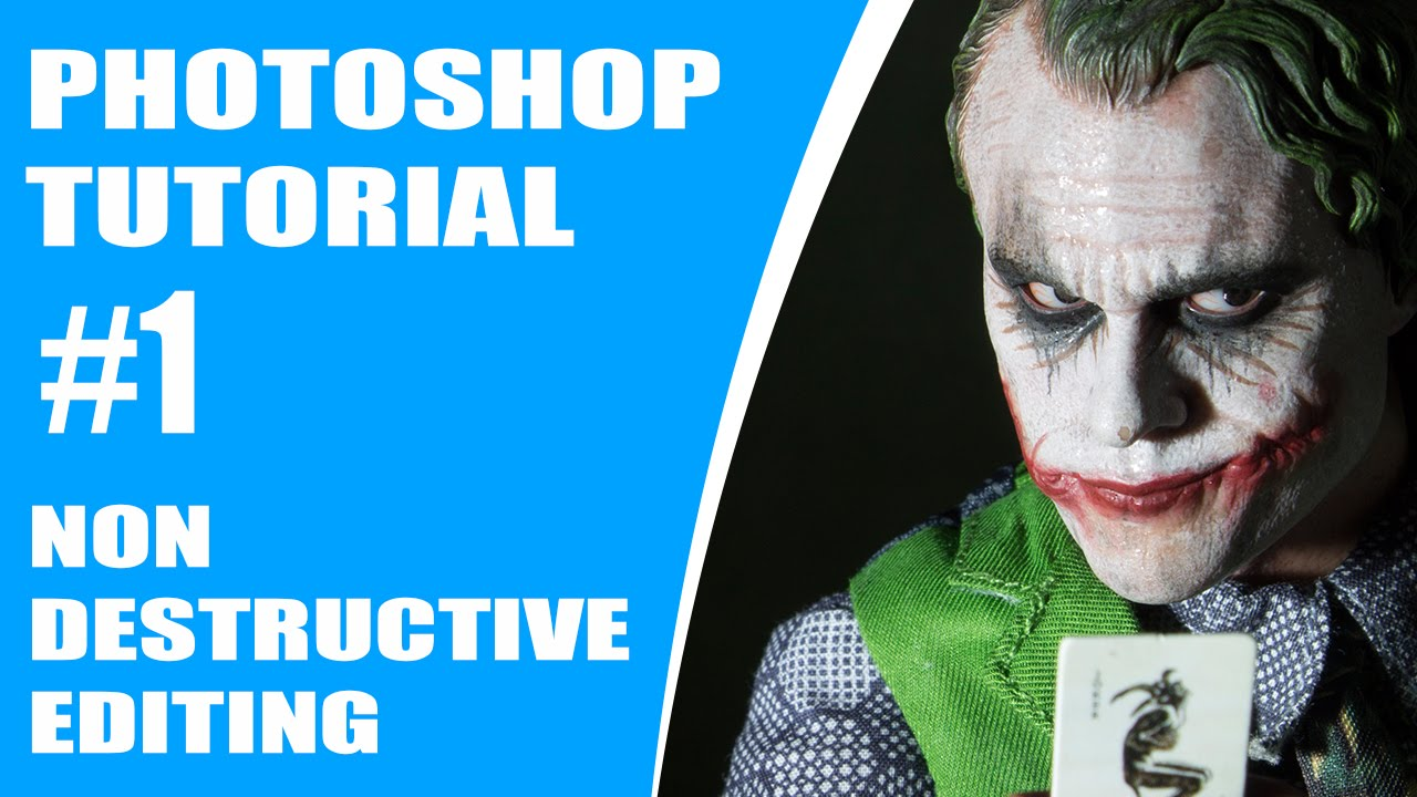 how to make non destructive mask photoshop