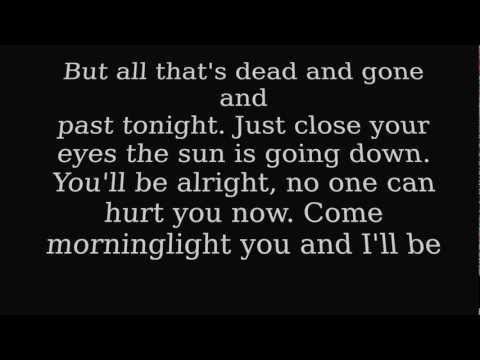 Taylor Swift  Safe and Sound  Lyrics on Screen