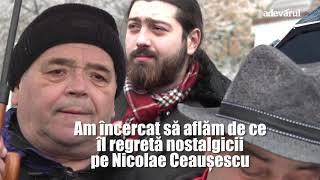 Nostalgii comuniste la mormantul lui Ceausescu ,,Nu pot sa-mi aduc aminte de ceva ce nu-mi ...