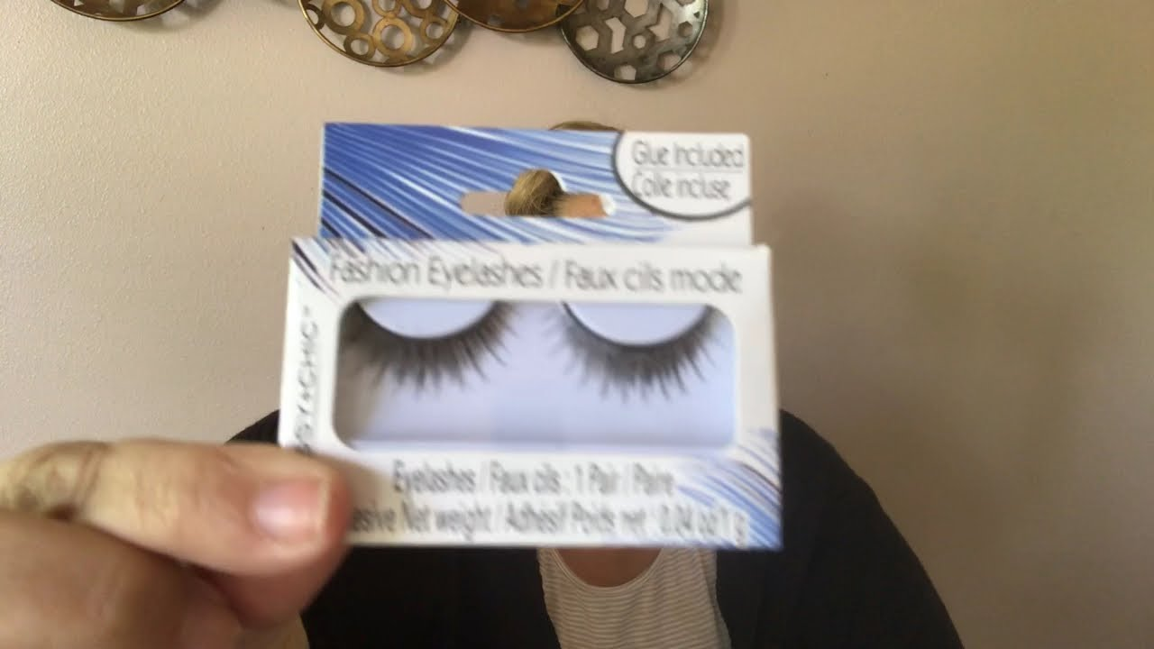 f1785b39254 Dollar Tree $1 False Eyelashes - DIY - How to make them Luxurious and  Natural