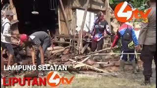 Liputan4 TV. Blusukan Bupati Lampung Selatan Kerumah Roboh