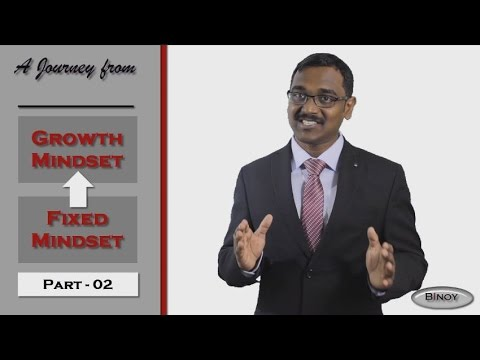 A Journey from Fixed Mindset to Growth Mindset